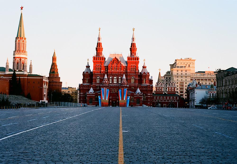 Lapangan Merah, pemandangan Museum Sejarah Negara