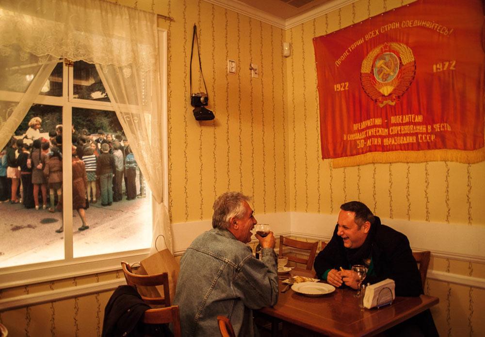 レストラン「バック・トゥ・ソ連」 ニューヨーク、ブライトン・ビーチ 2013年1月27日