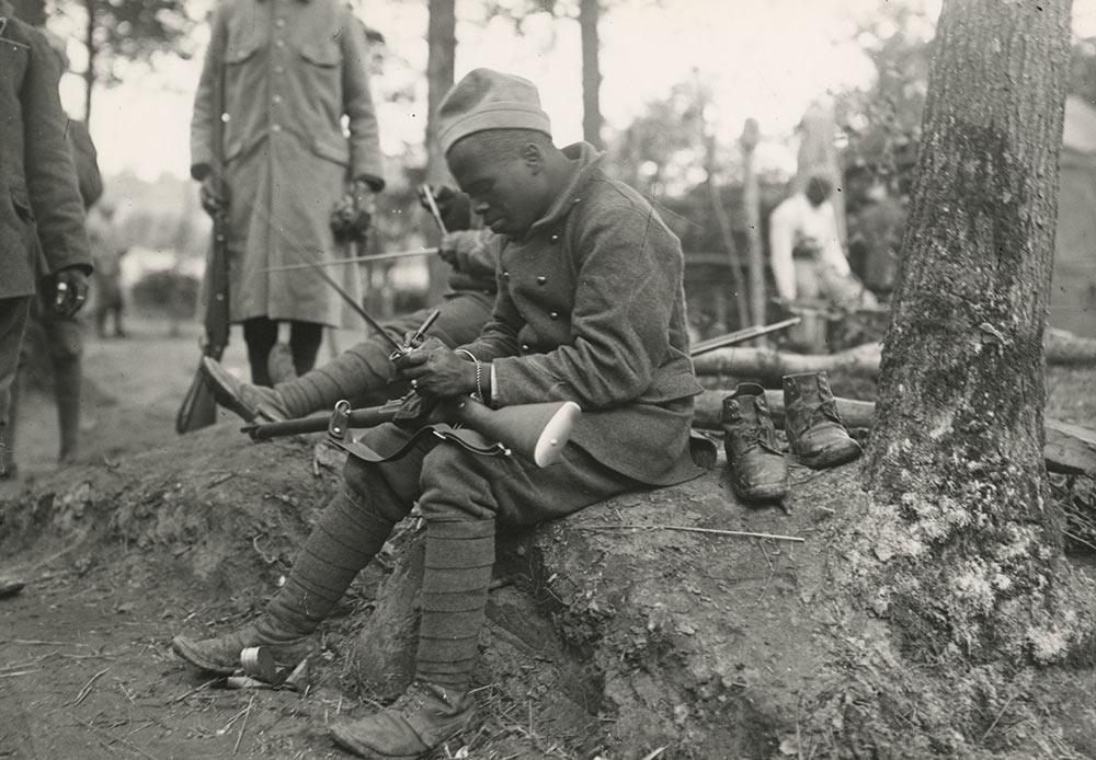 Un soldat sénégalais, artiste inconnu.