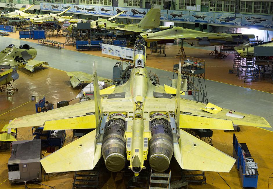 """5/14. ИАЗ је део корпорације """"Иркут"""" и један је од најпознатијих центара за производњу авиона у Русији."""