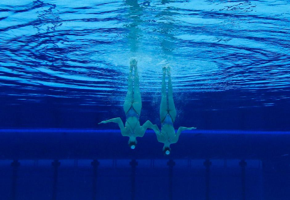 Das Duo Romaschina-Ischtschenko tritt seit 2009 zusammen auf. In Rio gewannen sie erneut Gold. Damit sind die beiden nun vierfache Olympiasiegerinnen.