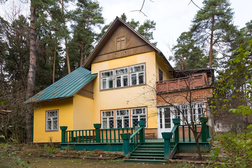 中には、広さや都心からの距離ではなく、歴史的背景故に価値が高いダーチャもある。有名な作家や画家のダーチャなどである。この写真に写っているのは、ペレデルキノ(モスクワ州)にある、詩人のコルネイ・チュコフスキーの家である。