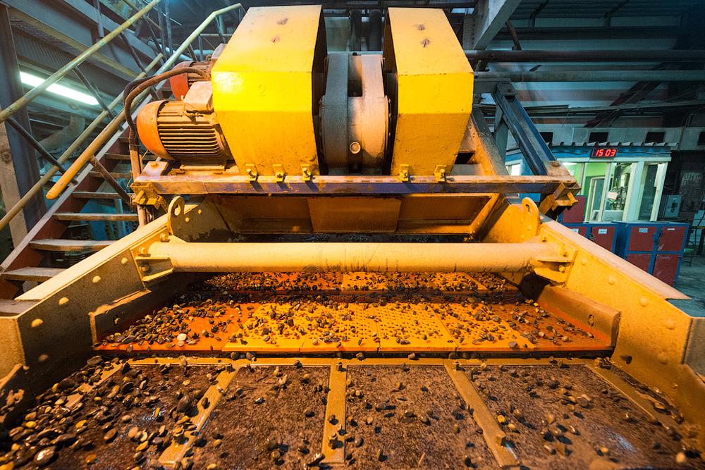 Glavne proizvodne jedinice nalaze se većinom u Zapadnoj Jakutiji.