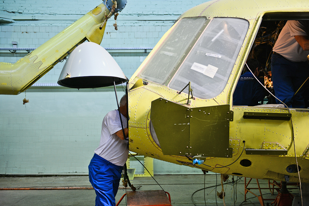 The Mi-8 and its more modern version, the Mi-17, were developed in the 1960s. It remains one of the most highly sought-after helicopters in the world.