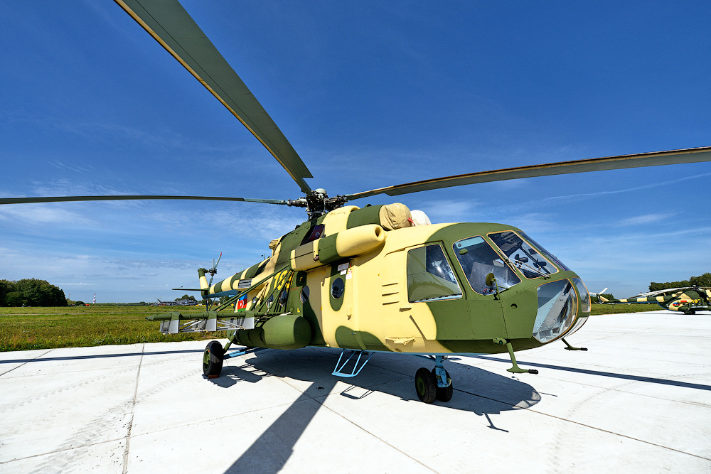 Helicopters made ​​in Kazan have more than 50 million flight hours worldwide. This Mi-17V-5, for instance, is set to fly to Azerbaijan.