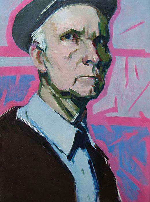 Autoportrait d'Arseny Semionov qui sert d'exemple dans de développement de la peinture russe des années 1960. Sa peinture Nevsky Prospket, la plus connue, date de 1959.