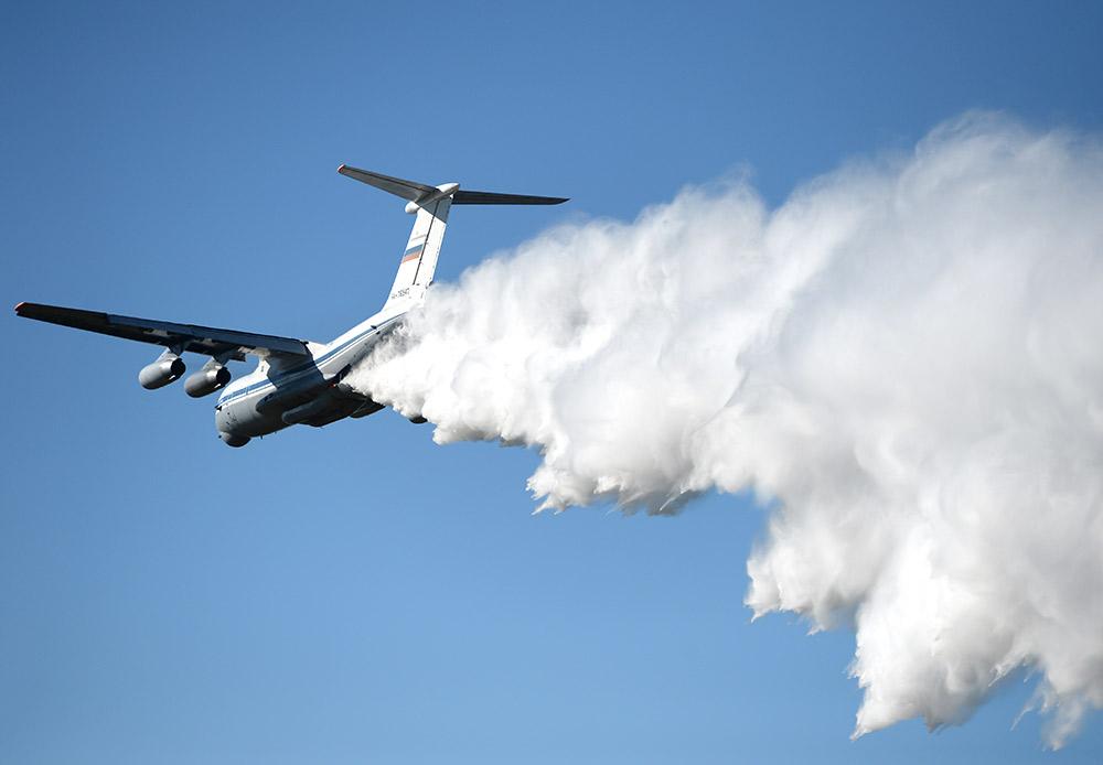 IL-76MD adalah pesawat angkutan militer berat yang didesain untuk mengangkut dan mendaratkan orang, peralatan, dan pasokan kebutuhan. IL-76MD merupakan pesawat angkutan militer turbojet pertama Uni Soviet.