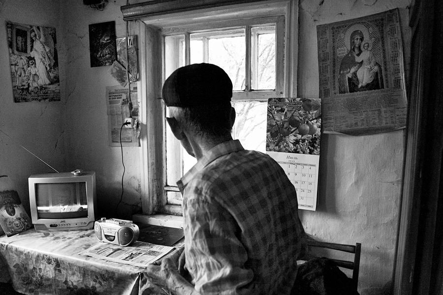 Иван Волегов е единственият жител на Гариповка.