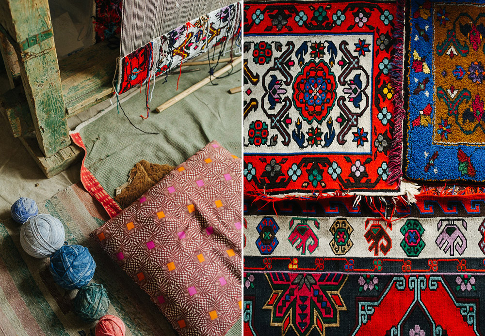 At one time, rugs were not as ornate as they are now and weren't much to decorate a room with. The nomadic peoples that inhabited oriental countries first made them as practical object that helped keep their homes warm, were easy to transport, and stayed intact for many years.