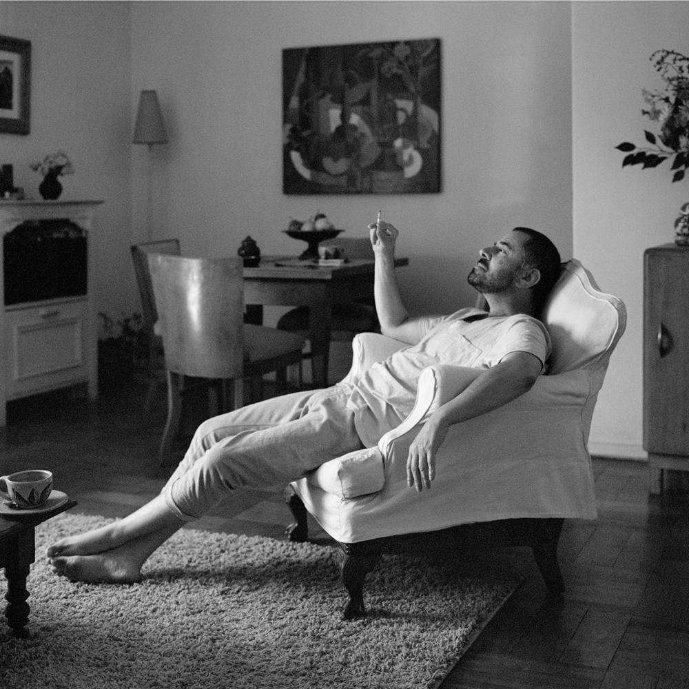 """Juan, Santiago de Chile, 2013. De la serie """"La mañana"""". Fuente: V. Katsuba"""