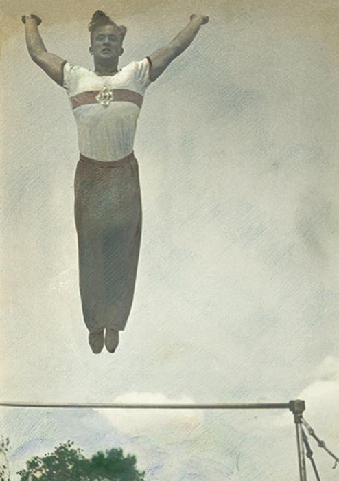 Saut en hauteur, 1936