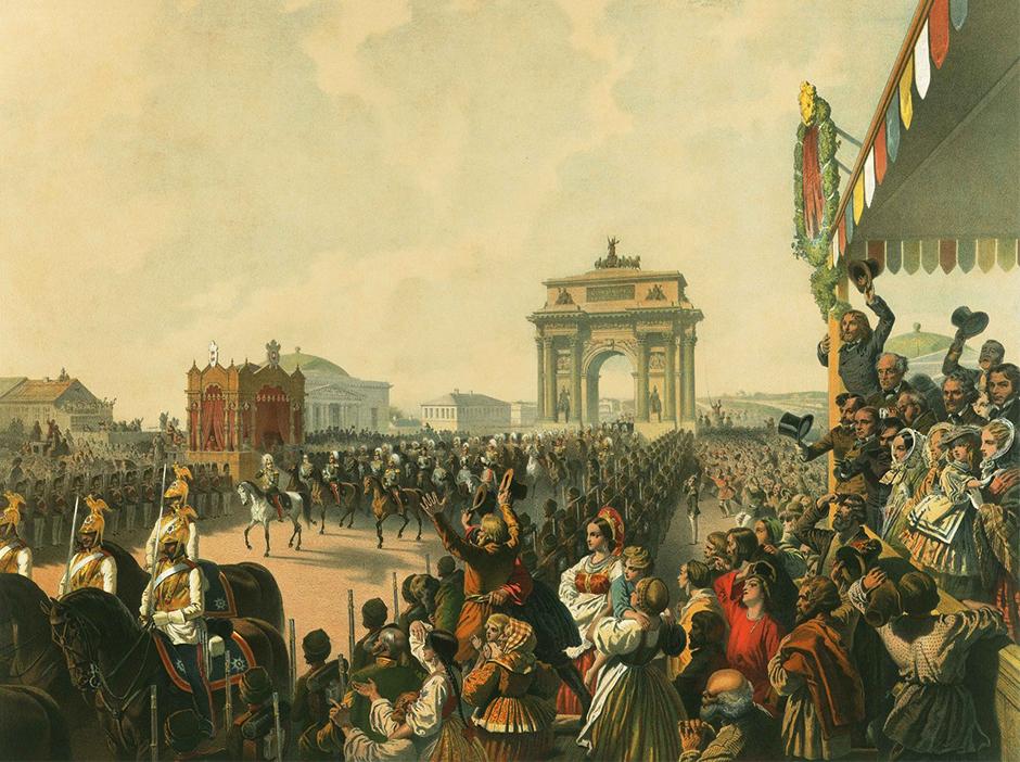 皇族の生活を描いたこれらのユニークな絵は、ミハリ(ミハイル)・ジチの作品である。彼は19世紀後半、皇帝一家の儀式、娯楽や家族行事を絵として記録した。