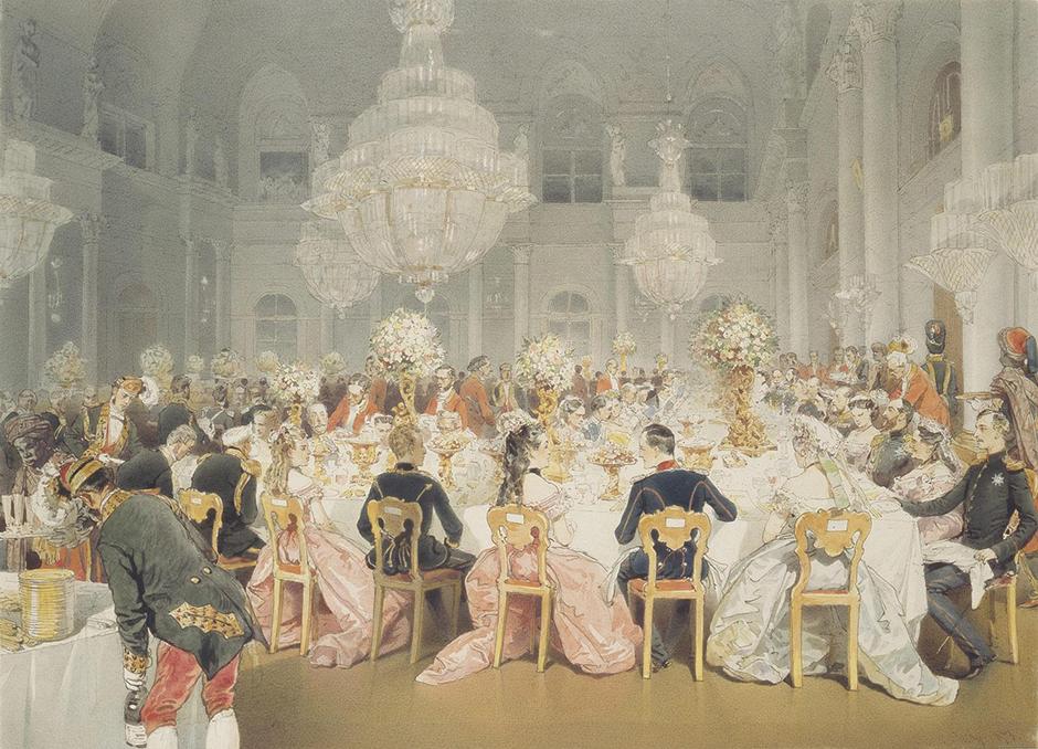 通常宮廷画家や記録係は、外国人に与えられた職業であった。ミハリ・ジチの他には、ルイ・カラヴァク、ヨハン・ゴットフリート・タンアウアーや、エルミタージュ初のコレクションをアレンジしたゲオルグ・クリストフ・グルースなど、数多くの外国人がいた。
