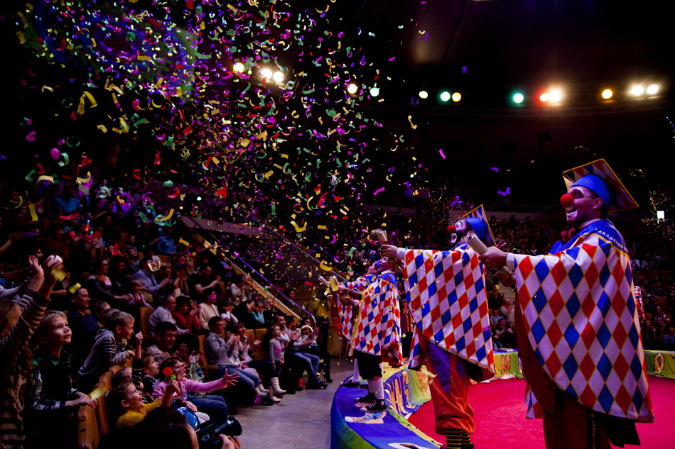 """He's been in clowning for many years. Starting with pantomime, he performed in the street to make some money and pay for his tuition. """"My first circus performance was in Switzerland... Some 30 years ago,"""" he recalls."""