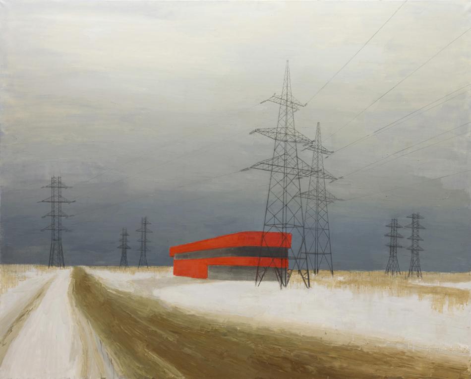 これら一連の作品は、モスクワの小地区のひとつでその3分の2が工業地帯となっているザパドノエ・デグニノ区の心理的・地理的研究の成果である。これらの作品は2014年にモスクワ現代美術館で展示されたものだ。