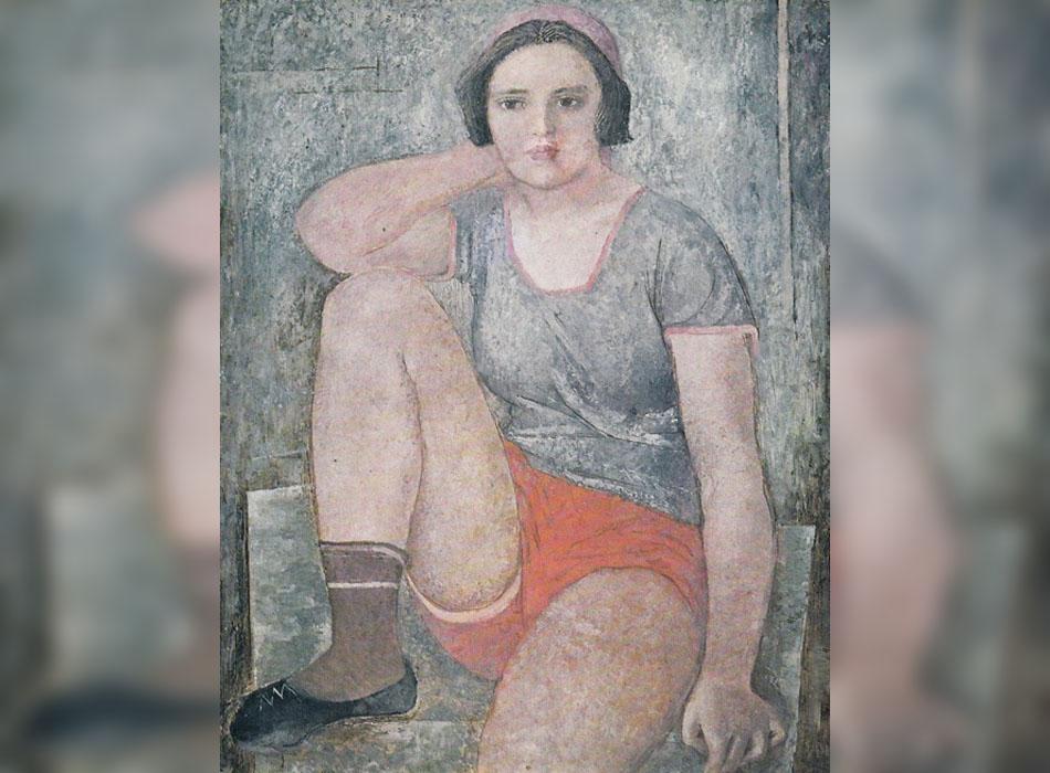 Идеалите за женска красота варират през годините. Промените в политическата ситуация винаги предизвикват оформянето на нови образи и идеали, които преливат от живота в изкуството и обратно. Класическите женски образи на ранната съветска епоха (1920-те и 30-те години) могат да се видят в афишите на Александър Родченко, картините на Александър Дейнека, Кузма Петров-Водкин и Александър Самохвалов (1894-1971), когото ще разгледаме тук. / Спортистка, 1928.