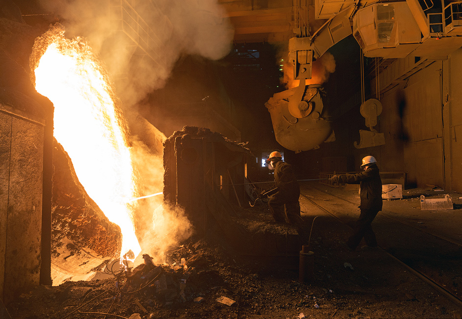 A metalurgia é a principal atividade da região de Tcheliábinsk e representa mais de 60% da produção industrial local