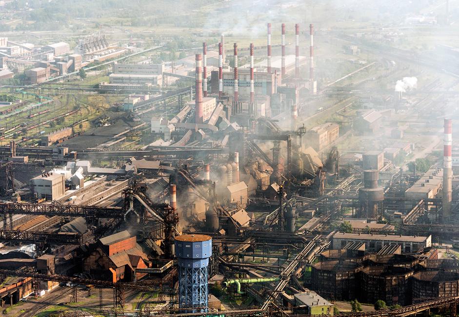 A Usina Metalúrgica de Tcheliábinsk é a maior e mais completa do país