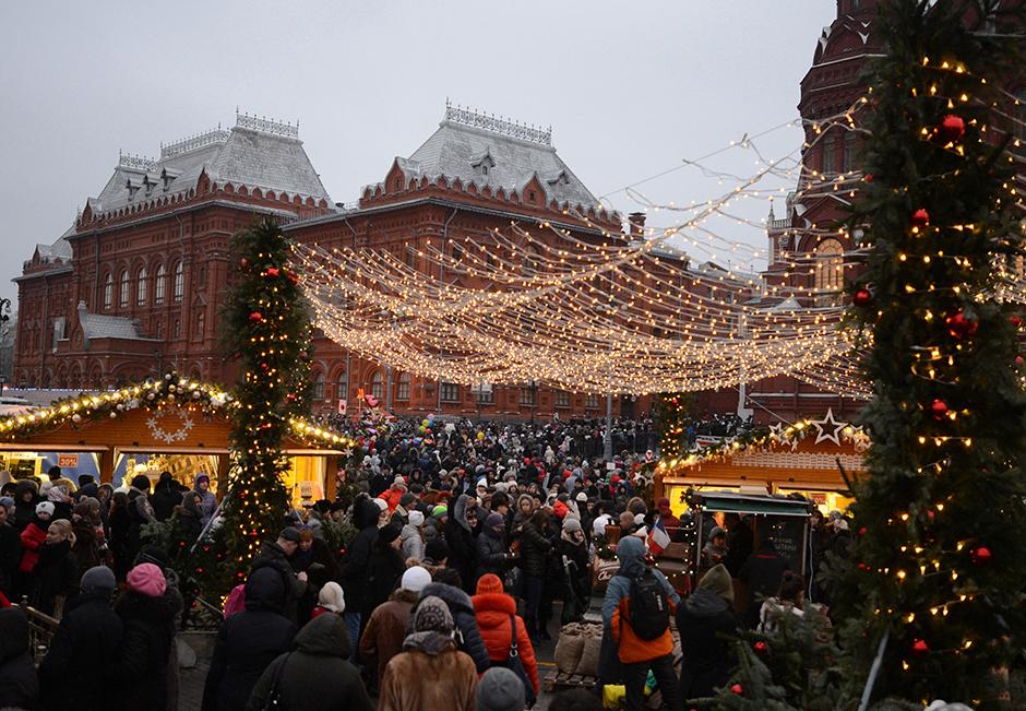 8. januar. Ni dobro vse praznike presedeti doma! To je pravi čas za sprehod po okrašenem mestu in za obisk enega izmed mnogih božičnih sejmov, kjer lahko kupimo razne spominke, medico ali pa si ogledamo kakšno prireditev.