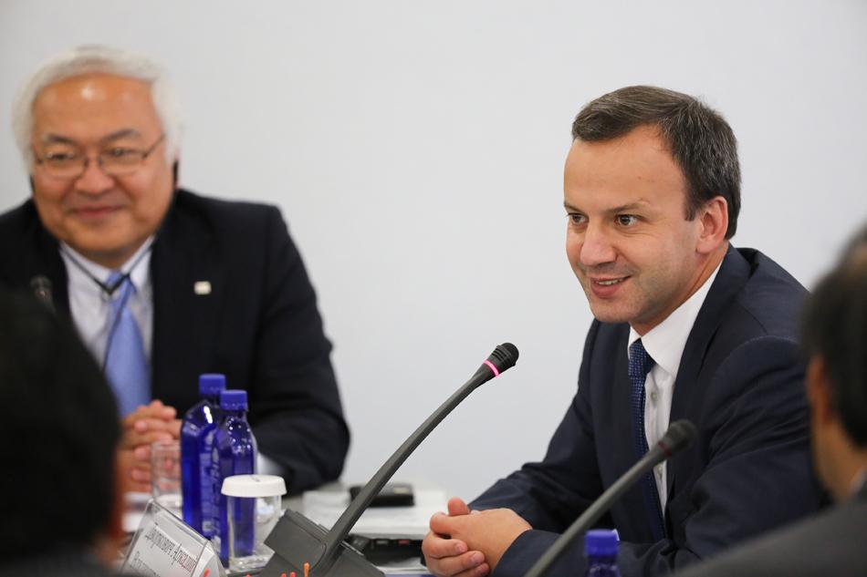 ロシア連邦副首相ドヴォルコーヴィチ