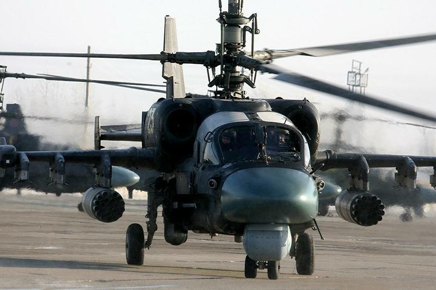 Helicóptero Ka-52 / Ildus Gilazutdinov / Ministerio de Defensa
