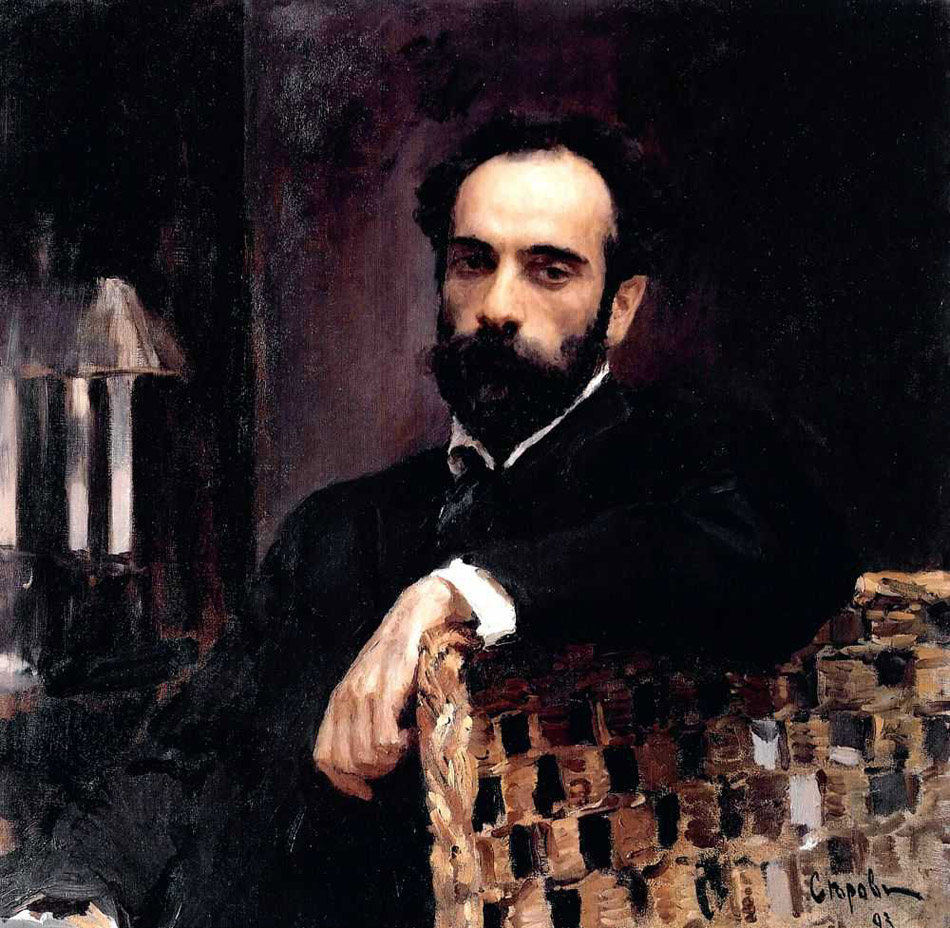 Constantly perfecting his craft, in subsequent years the artist created a gallery of the most famous people of the age, including monarchs and princes, industrialists and bankers, actors and artists. // Portrait of painter Isaac Levitan, 1893