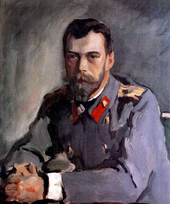 Serov's formal portraits of the late 19th century did not feature banal poses or static heroic postures: on canvas his models did not turn into ceremonial depictions, but remained themselves. His portrait of Nicholas Romanov is one of the finest portraits of the last Russian emperor. // Portrait of Nicholas II, 1900