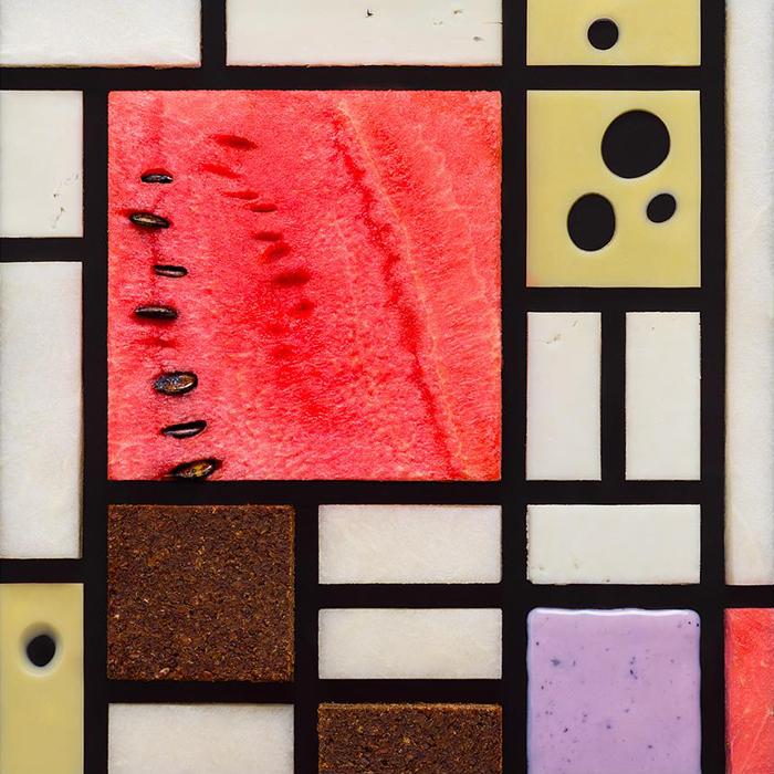 ピエト・モンドリアン、『赤・青・黄のコンポジション』、1921年。「私はこの幾何学的配列と魅惑的な色彩の組み合わせが大好きだ」