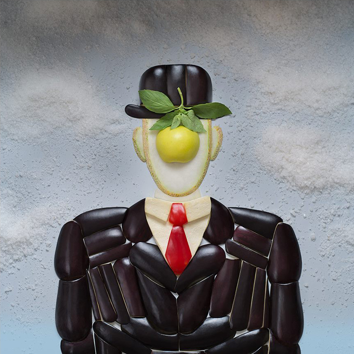 """Rene Magritte, """"Sin čovjeka"""", 1964. """"Imam osjećaj da ovu sliku često izrađuju od hrane."""""""