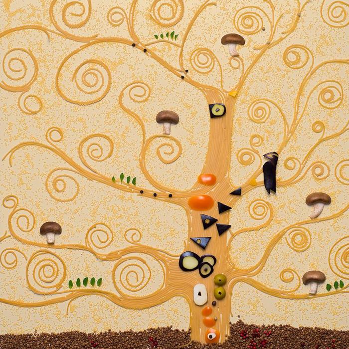 """Gustav Klimt, """"Drvo života"""", 1905.-1909. """"Za mene je ovo jedan od najzanimljivijih umjetnika""""."""