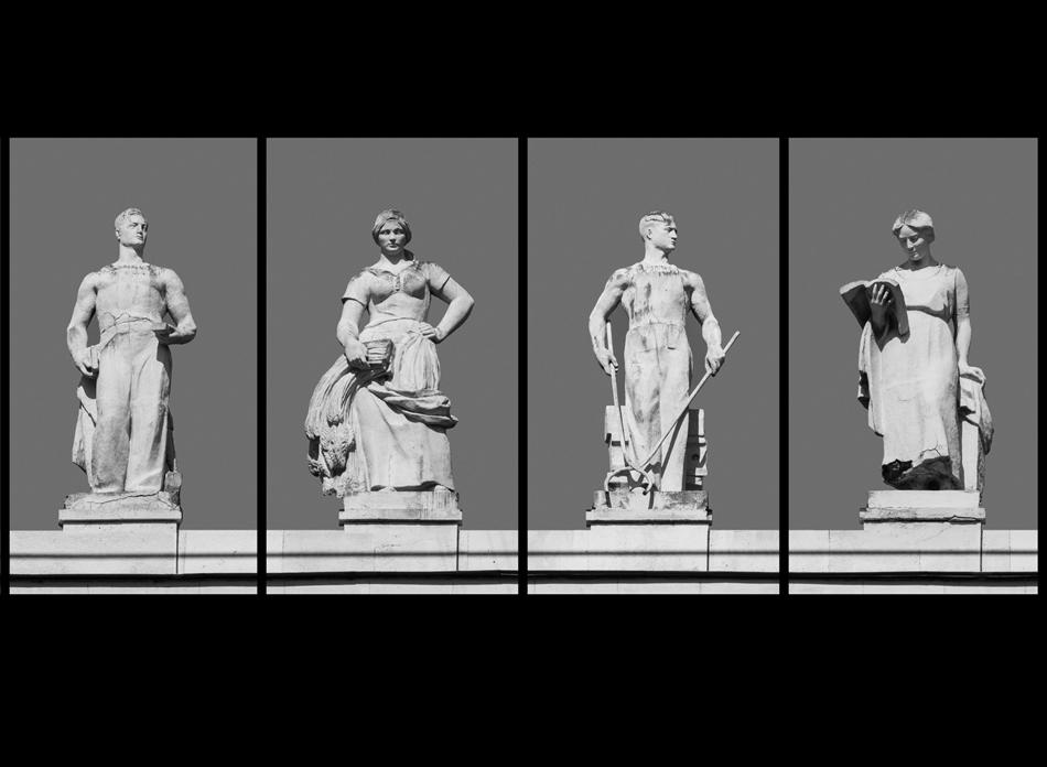"""Das Museum von Moskau präsentiert seine neue Ausstellung """"Die Reinheit der Seele"""", welche der Architektur der Mitte des 20. Jahrhunderts gewidmet ist. Der Titel der Ausstellung bezieht sich auf die gesamte Epoche: """"Die Seele ist rein"""" – jedoch unnahbar."""