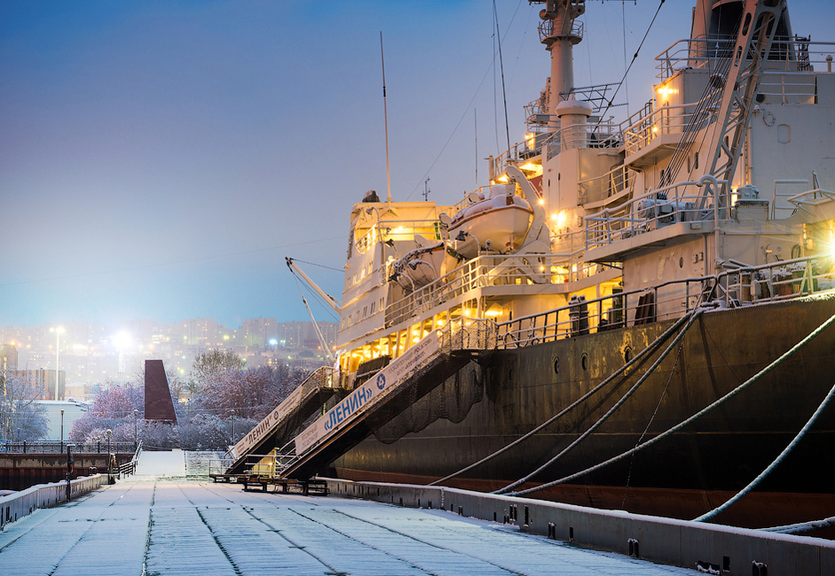 "The atomic icebreaker  ""Lenin"" became a true forge of professionals for the whole atomic fleet. 1327 specialists were trained on board the icebreaker during the first 20 years."
