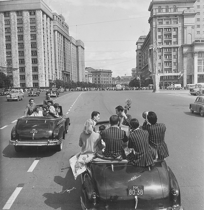 第6回国際青年学生祭典、モスクワ、1957年。