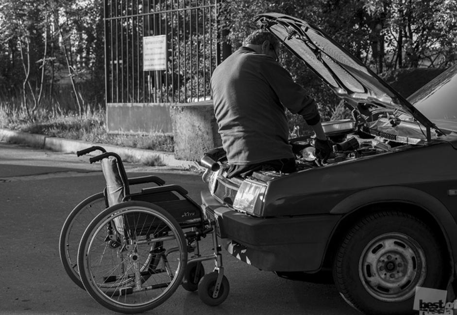 自動車整備士、ムルマンスク市
