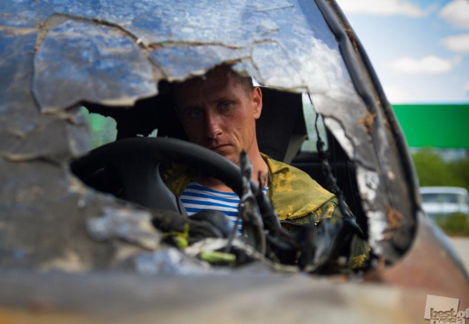 Un chauffeur, oblast de Tver