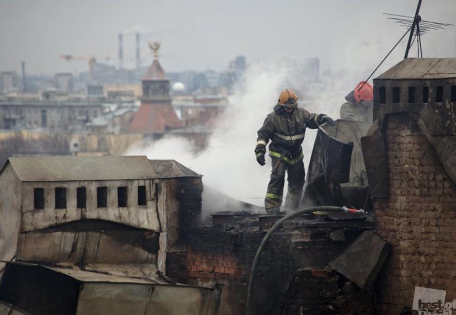 消防士、サンクトペテルブルク