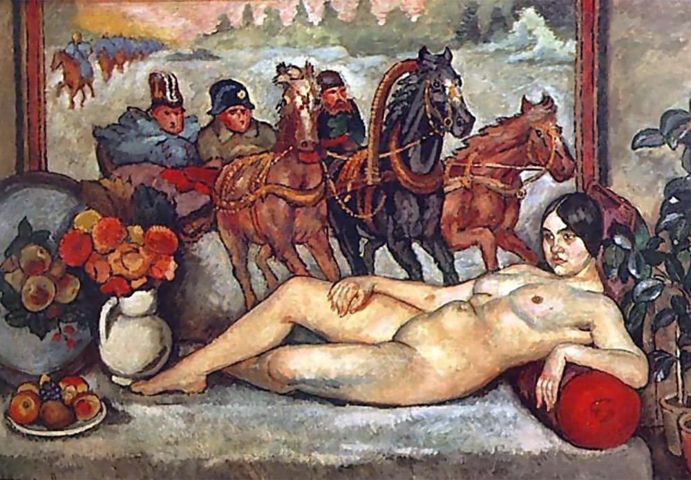 『ロシアのヴィーナス』、イリヤ・マシコフ。1914
