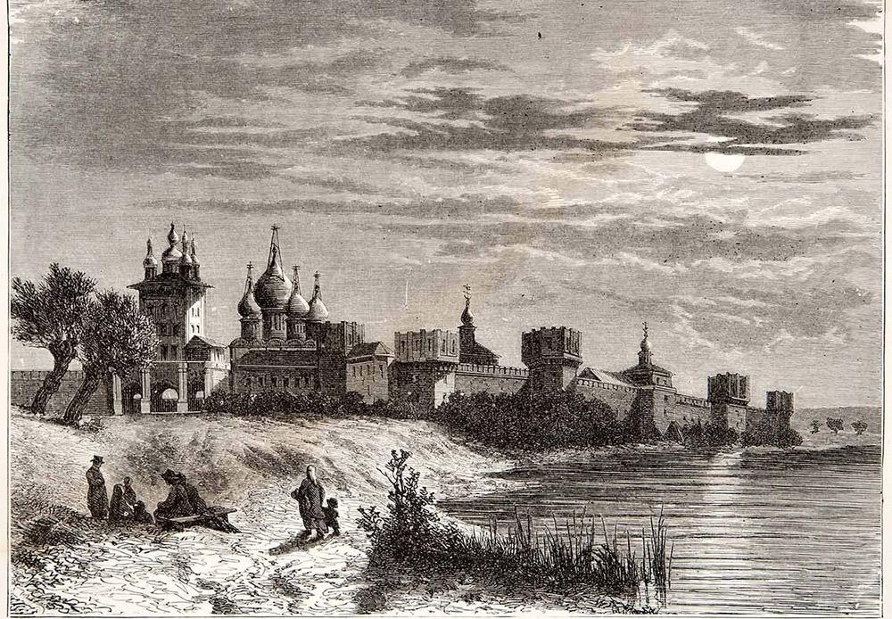 この女子修道院はヴァシーリー3世により491年前に設立された。