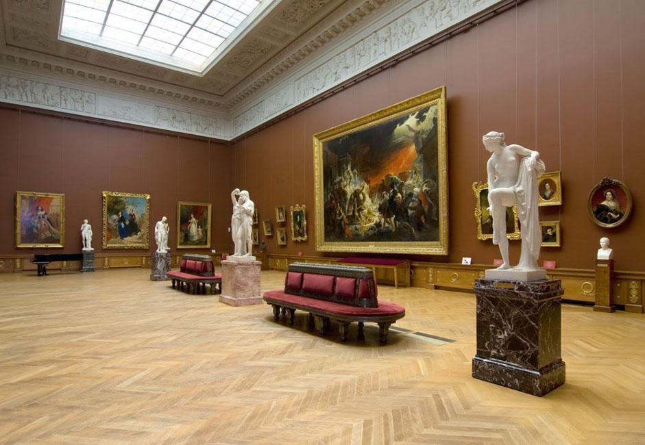 El arte ruso se presentará en el contexto del europeo como parte de su historia y modernidad.