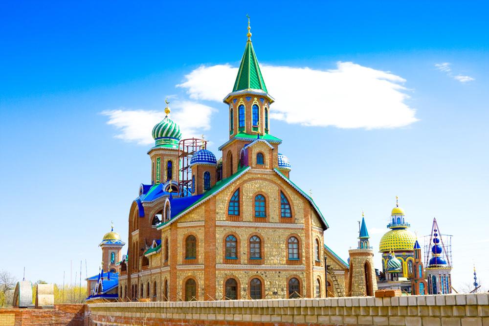 Il Tempio di tutte le religioni. Fonte: Lori/Legion-Media
