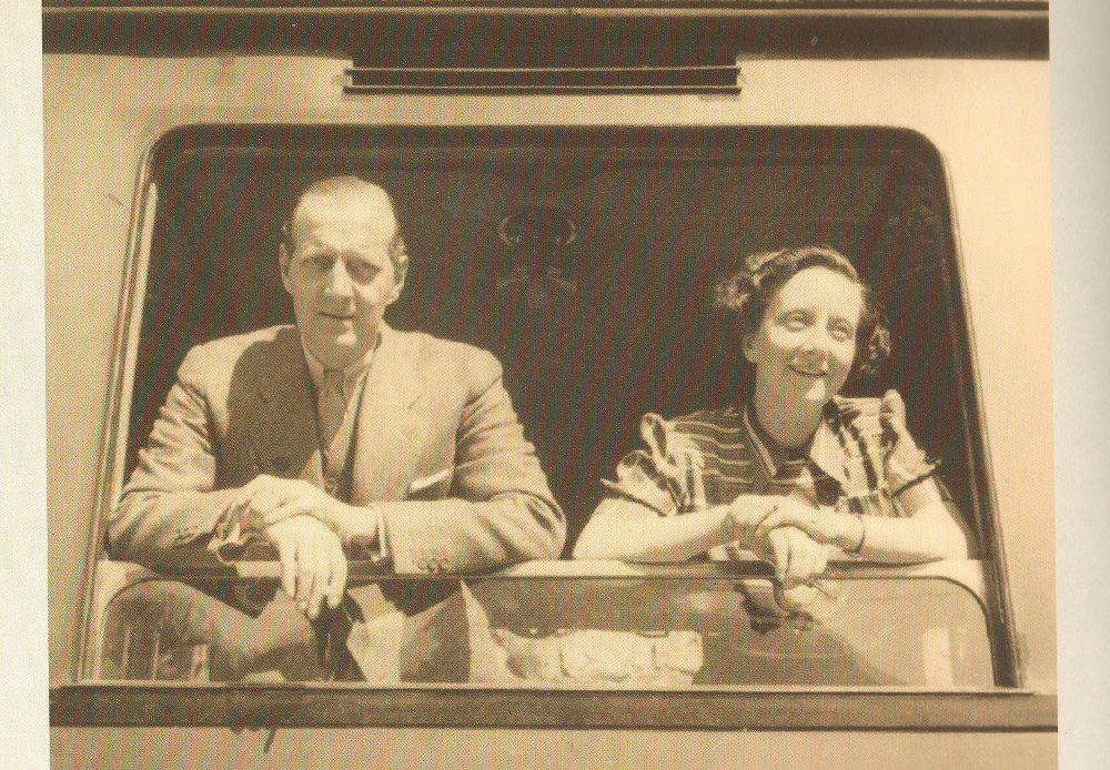 Княз Дмитрий на последния си рожден ден. Сейн Мориц, Швейцария, 6 септември 1941 г.