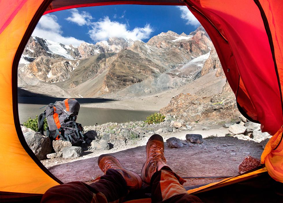 グリゴリエフさんは、ファン山の最高峰チムタルガ峰(5489メートル)に到達した、最初のロシア人であった。