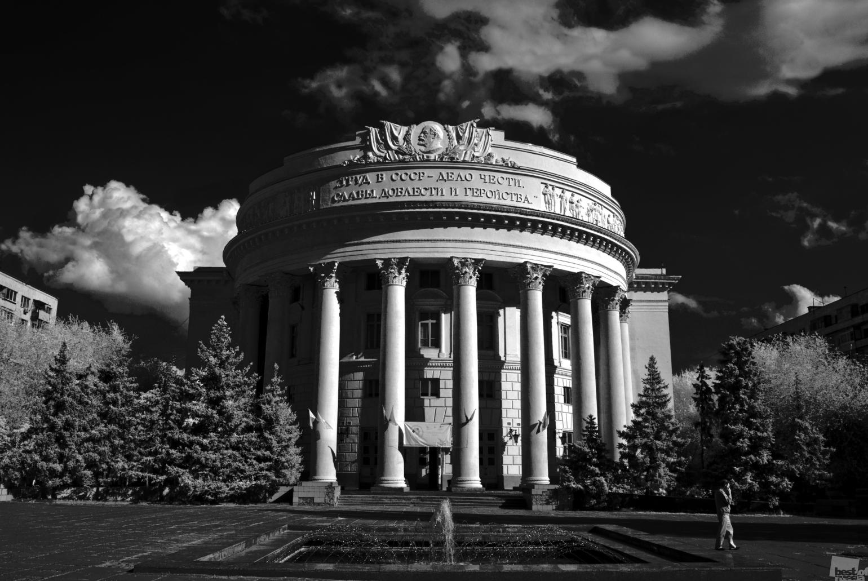 Kulturpalast der Gewerkschaften in Wolgograd.