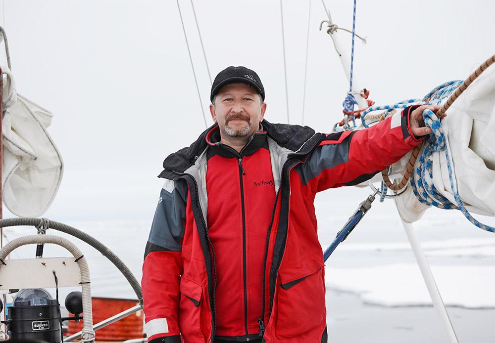 Aleksandr Obôimov, explorador que liderou várias expedições científicas ao Ártico.