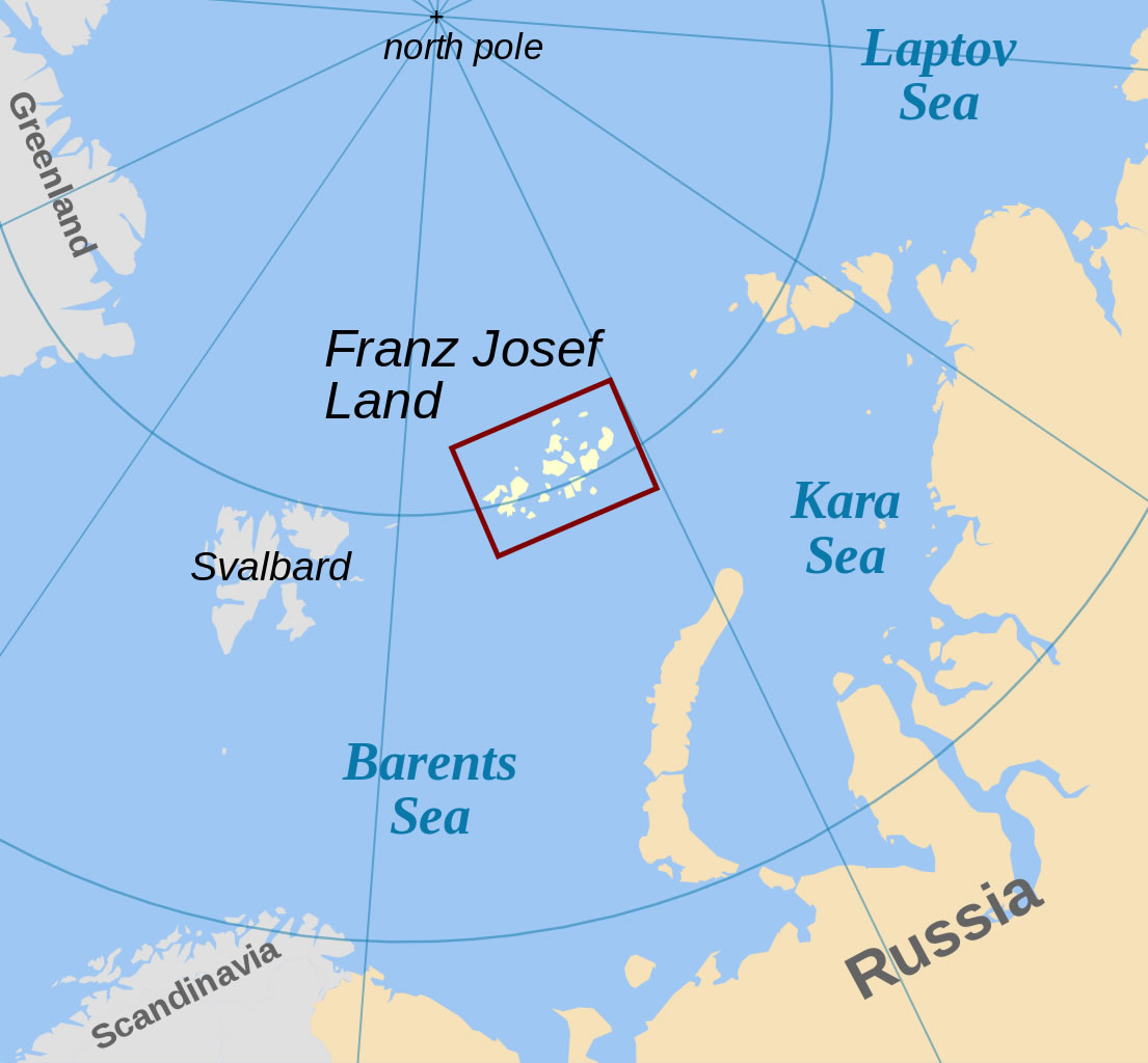 Zemlja Franje Josipa poznata je kao i Maleni ruski Arktik. Ima 191 otok, na kojima su uvjeti jako okrutni. Sve do 1920. zemlja je bila internacionalna. Ekspedicije iz cijelog svijeta dolazile su i boravile na otocima.