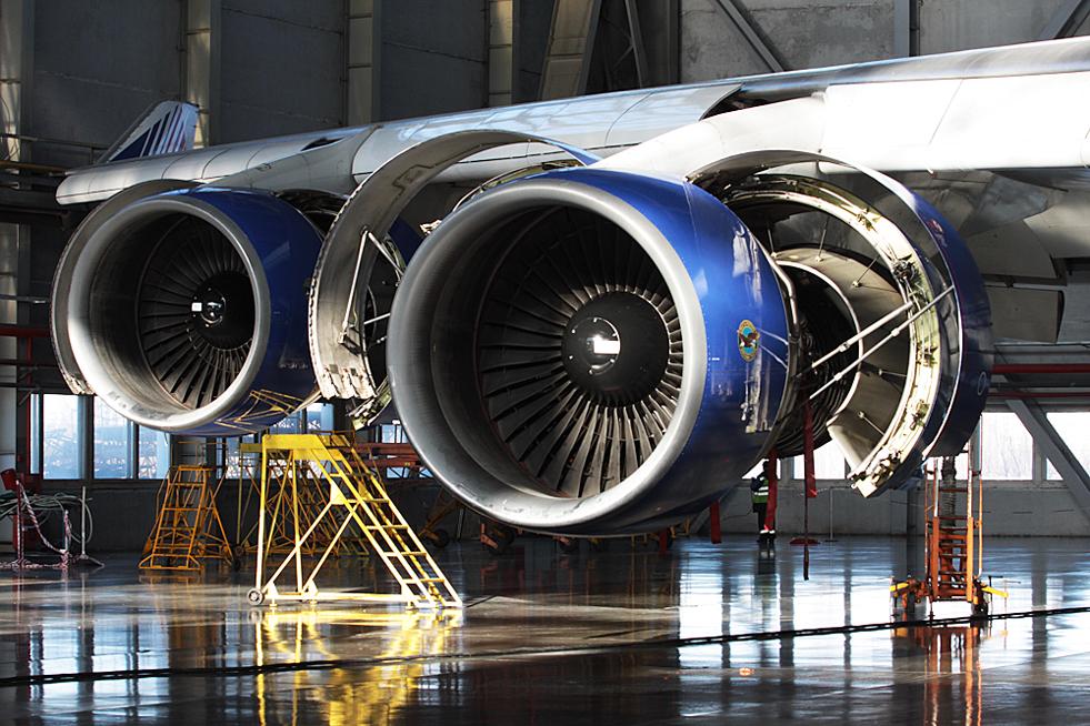"""7/8. """"Трансаеро"""" је 1996. постала прва руска компанија која је добила амерички FAA сертификат за самостално одржавање авиона произведених у САД."""