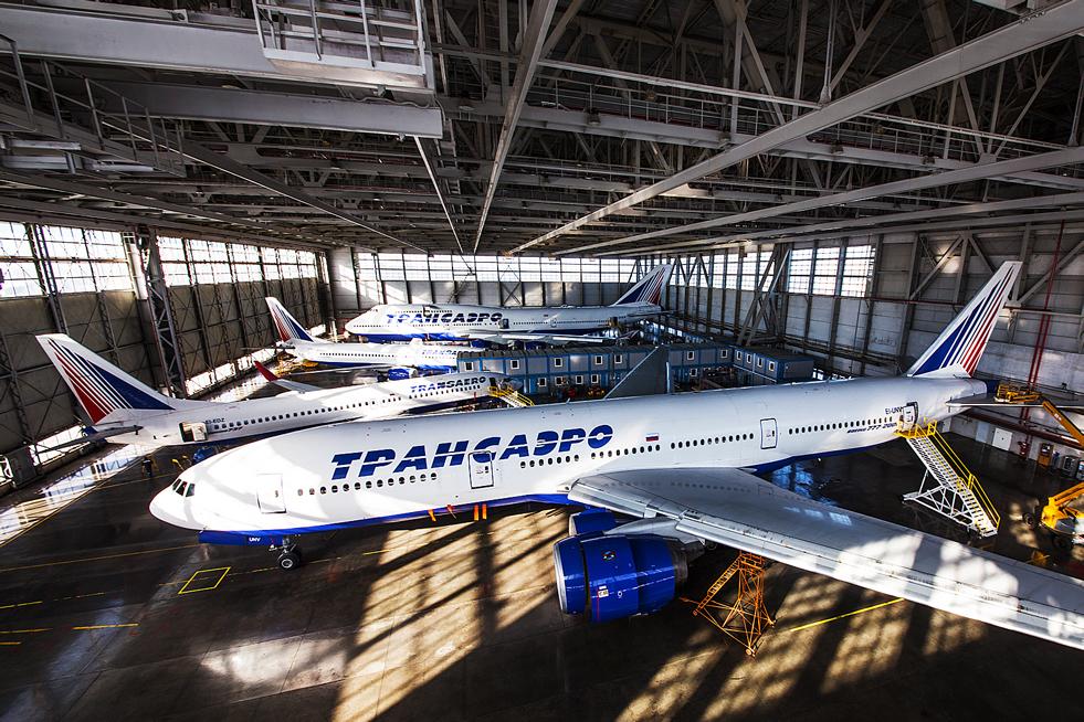 """1/8. Авио-компанија """"Трансаеро"""" регистрована је у септембру 1990. као акционарско друштво. То је прва приватна руска компанија за превоз путника у ваздушном саобраћају."""