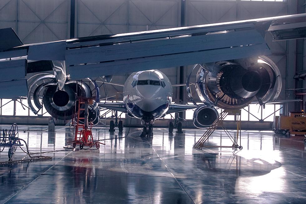 6/8. Побољшање рада сопствених ремонтних центара одувек је био један од најважнијих приоритета ове ваздухопловне компаније.