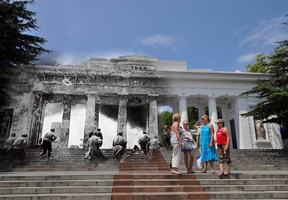 Sevastopol, 1944-2012. Assault of Grafskaya Pristan (Count's Quay).