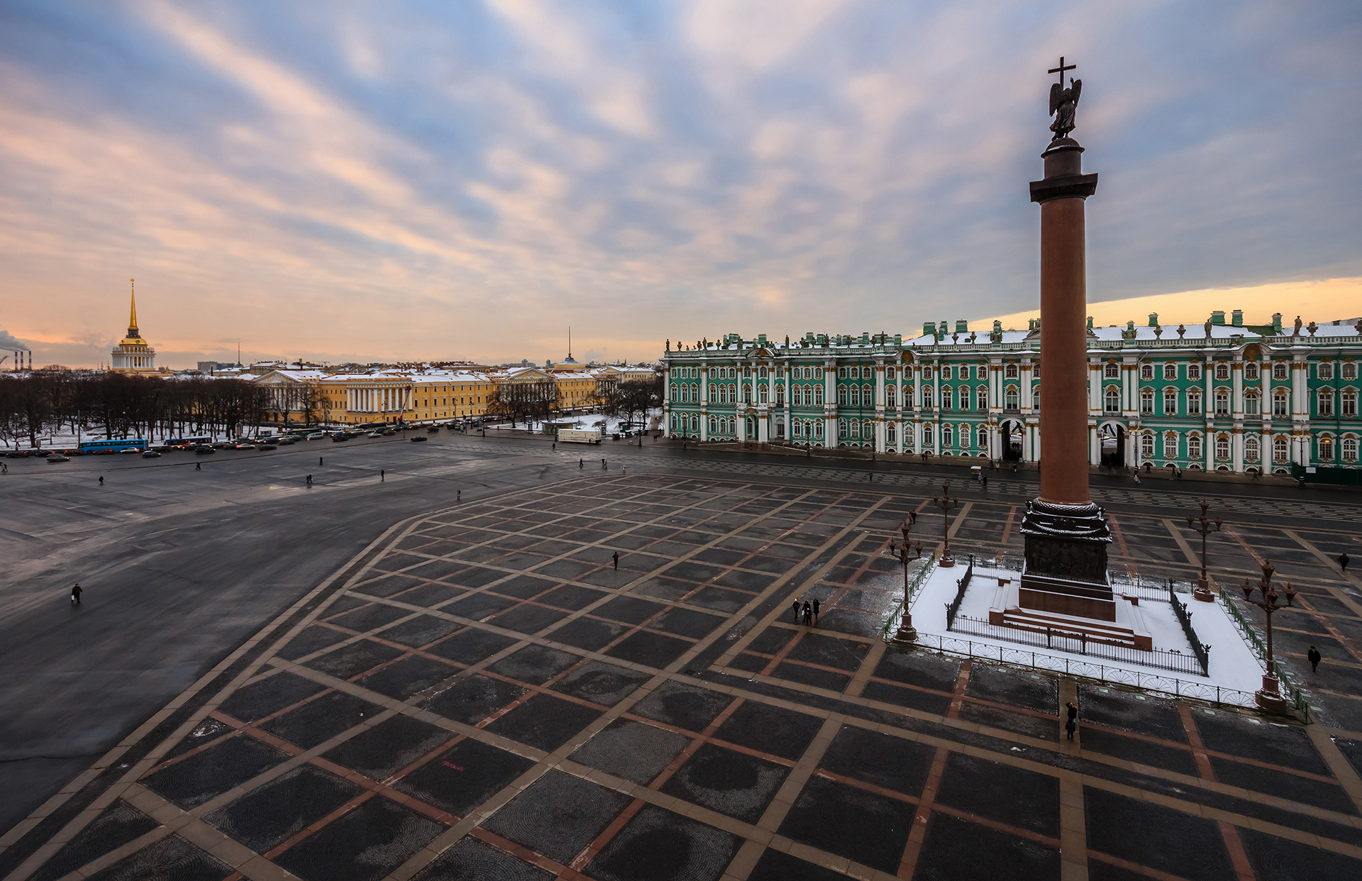 St. Petersburg's Hermitage Museum is the treasure chest of Russia. Founded by Empress Catherine the Great, the teal palace on the bank of the Neva River contains one of the world's most renowned art collections.